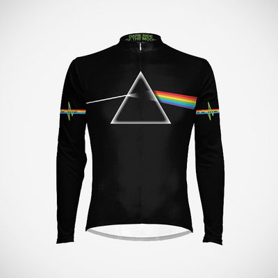 Men's Pink Floyd The Dark Side of the Moon L/S Jersey - Primal Europe Cycling clothing