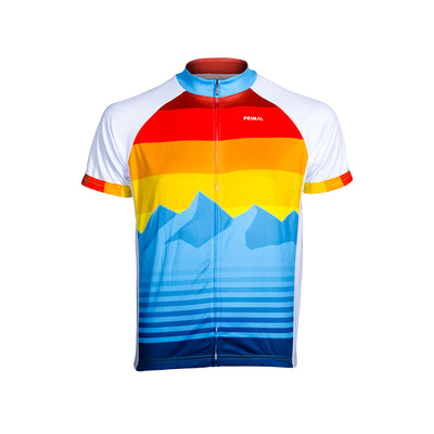 Rise & Set Men's Sport Cut Jersey -  Custom Cycling Clothing and accessories online - Primal Europe