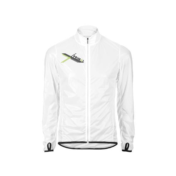 Asonic Men's Clear Rain Jacket - Rain Cape - Clear Colourway