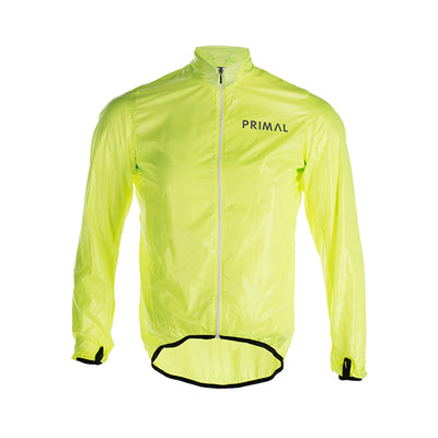 HiViz Men's Rain Jacket -  Custom Cycling Clothing and accessories online - Primal Europe