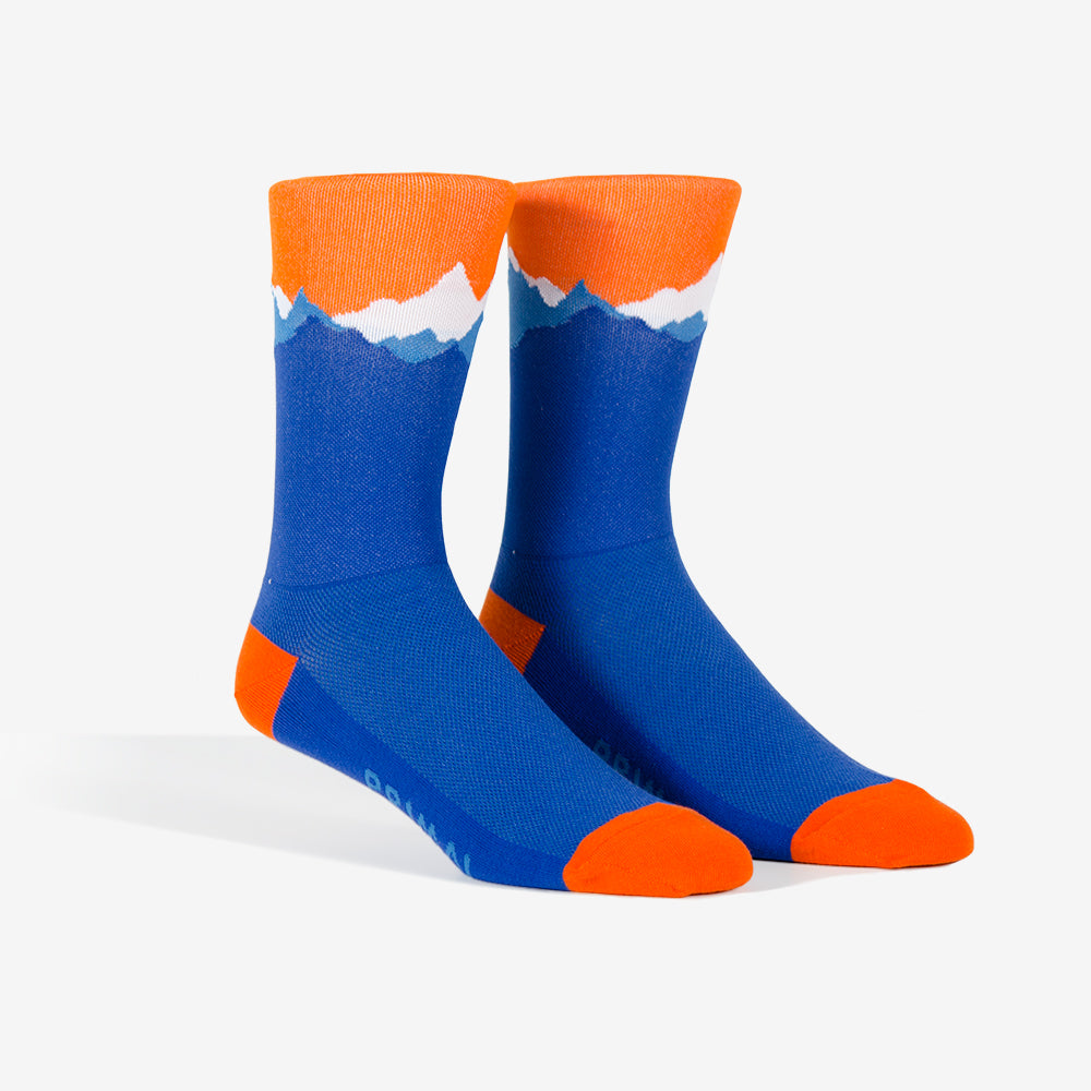 High Sierra Cycling Socks -  Custom Cycling Clothing and accessories online - Primal Europe