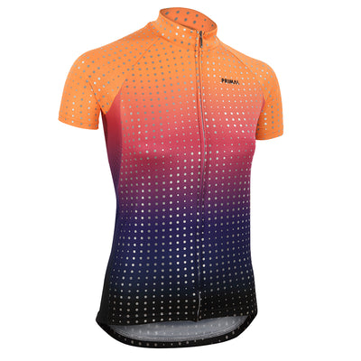 Sunrise Reflective Women's Nexas Jersey -  Custom Cycling Clothing and accessories online - Primal Europe