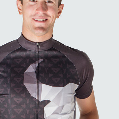 El Torrero Men's Cycling Jersey Bull Black