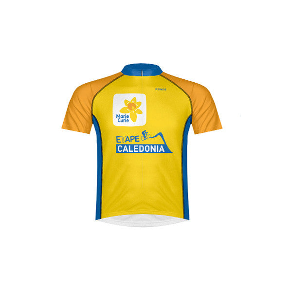 Men's Marie Curie Etape Caledonia Male Short Sleeve Jersey