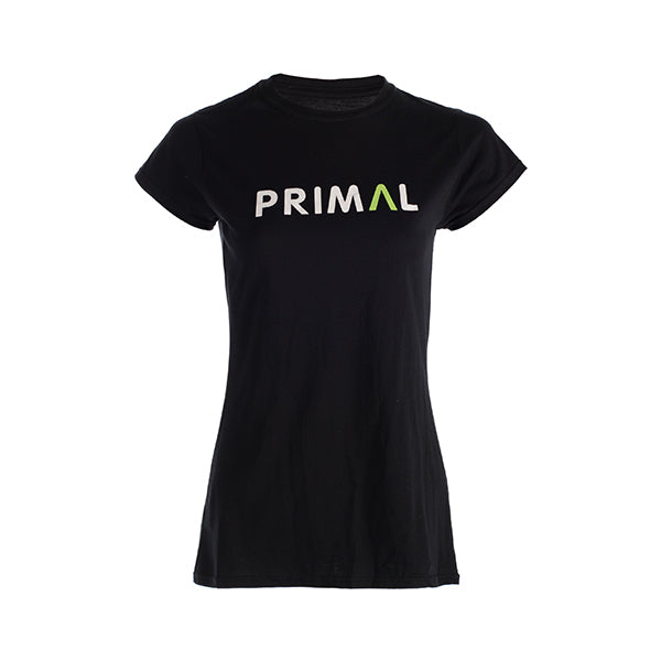 Primal Black Women's T-Shirt - Primal Europe Cycling clothing
