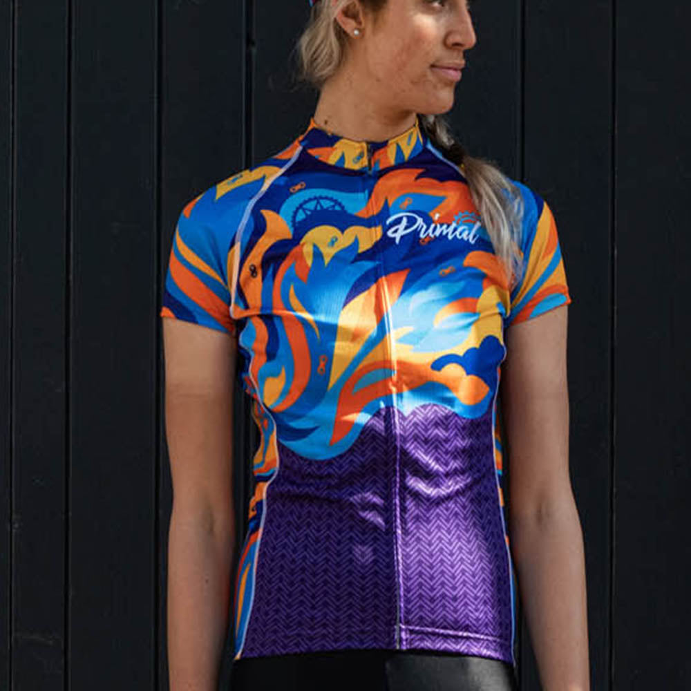 Fierce Women's Evo Jersey - Primal Europe Cycling clothing