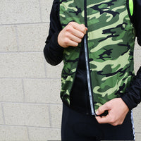 Men's Camo Wind Vest Green - Primal Europe Cycling clothing