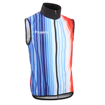 Change 1850-2019 Men's Wind Vest -  Custom Cycling Clothing and accessories online - Primal Europe