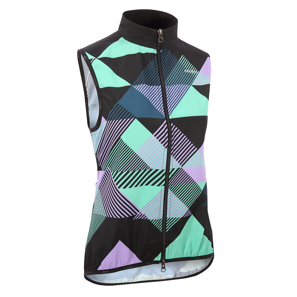 Makona Women's Wind Vest -  Custom Cycling Clothing and accessories online - Primal Europe