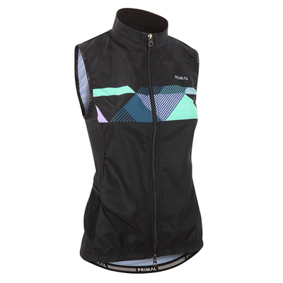 Makona Women's 4 Pocket Wind Vest -  Custom Cycling Clothing and accessories online - Primal Europe