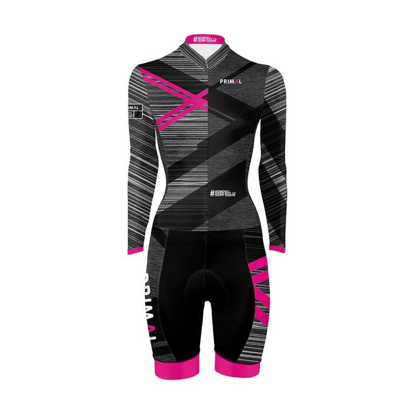 Women's Long Sleeve Speed Skinsuit 2.0 -  Custom Cycling Clothing and accessories online - Primal Europe