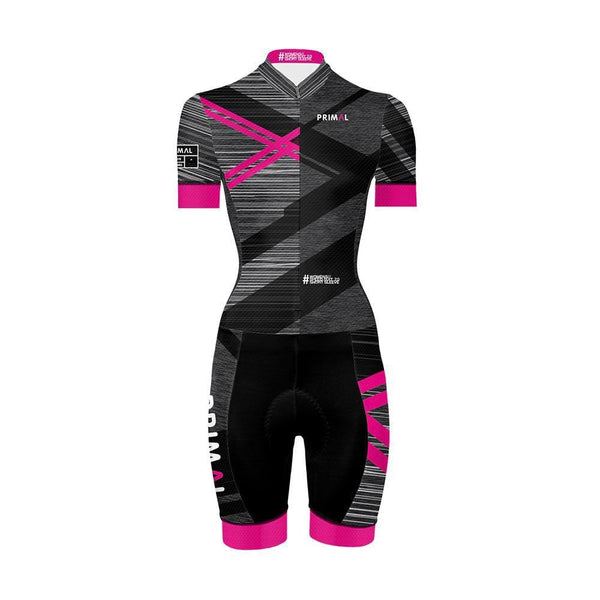 Women's Short Sleeve Speed Skinsuit 2.0 -  Custom Cycling Clothing and accessories online - Primal Europe