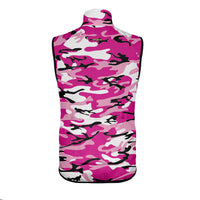 Camo Pink Wind Vest & Arm Warmers (Bundle&Save)