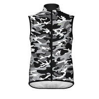 Camo Black Wind Vest & Arm Cycling Warmers (Bundle&Save) -  Custom Cycling Clothing and accessories online - Primal Europe