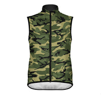 Camo Green Wind Vest & Arm Warmers (Bundle&Save) -  Custom Cycling Clothing and accessories online - Primal Europe