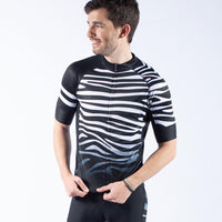 Zebra Men's Evo 2.0 Jersey -  Custom Cycling Clothing and accessories online - Primal Europe