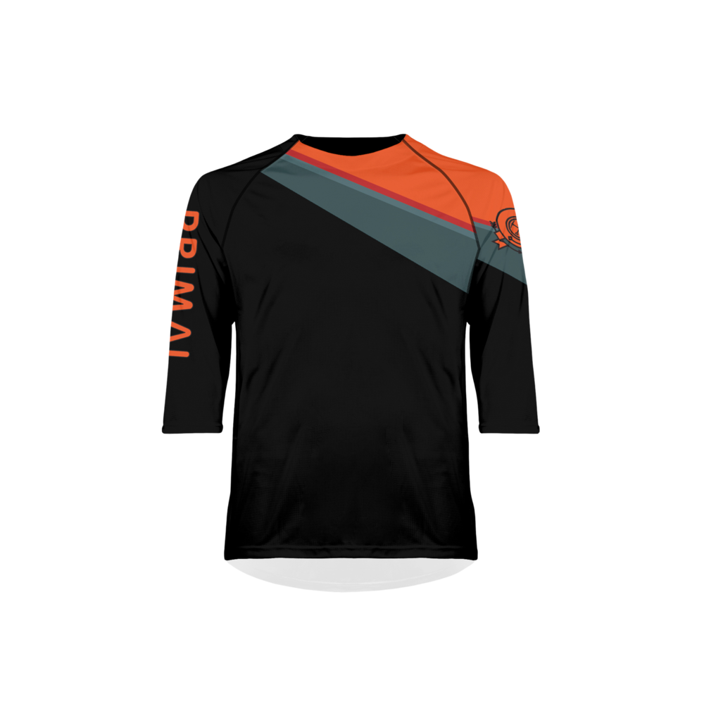 Men's Crag Black Ilex MTB Jersey