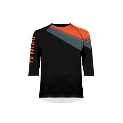 Men's Crag Black Ilex MTB Jersey -  Custom Cycling Clothing and accessories online - Primal Europe