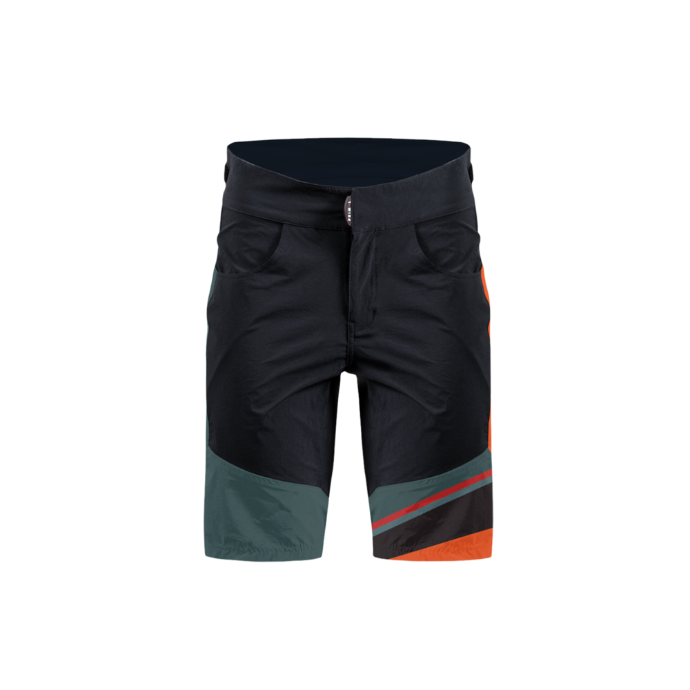 Men's Crag Black Ilex MTB Short - Primal Europe Cycling clothing