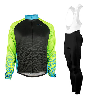 Dawn Winter Tights & Blackburn Green Heavyweight  (Bundle&Save) -  Custom Cycling Clothing and accessories online - Primal Europe