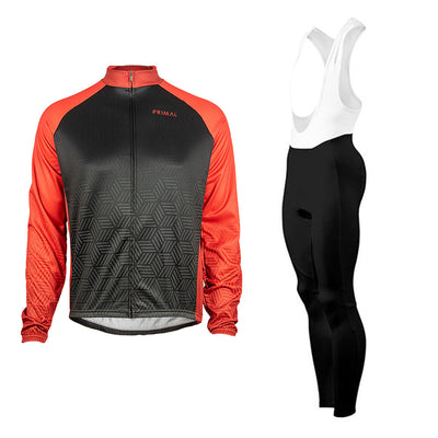 Dawn Winter Tights & Blackburn Red Heavyweight  (Bundle&Save) -  Custom Cycling Clothing and accessories online - Primal Europe