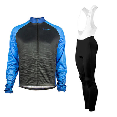 Dawn Winter Tights & Blackburn Blue Heavyweight  (Bundle&Save) -  Custom Cycling Clothing and accessories online - Primal Europe