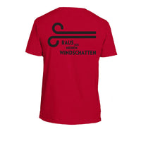 "Eschborn-Frankfurt T-Shirt Rot ""Windschatten"" -  Custom Cycling Clothing and accessories online - Primal Europe"