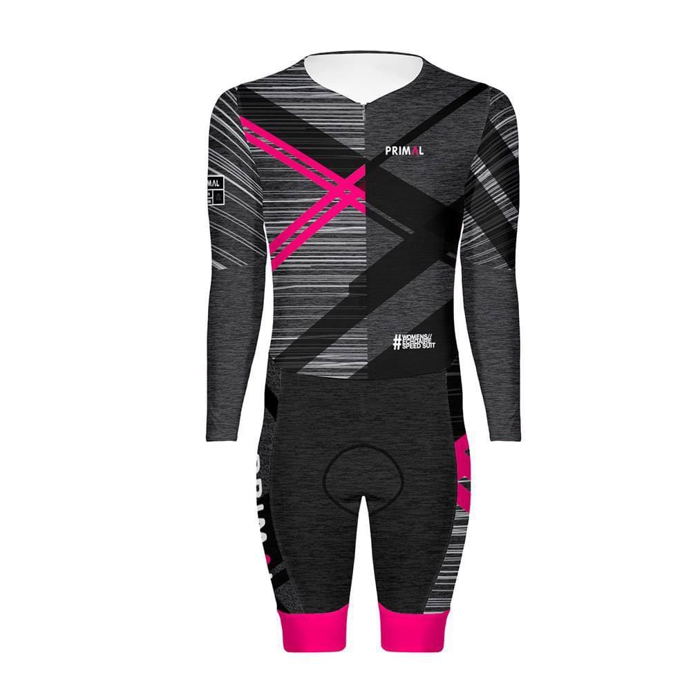 Women's Echo Aire Elite Skinsuit -  Custom Cycling Clothing and accessories online - Primal Europe