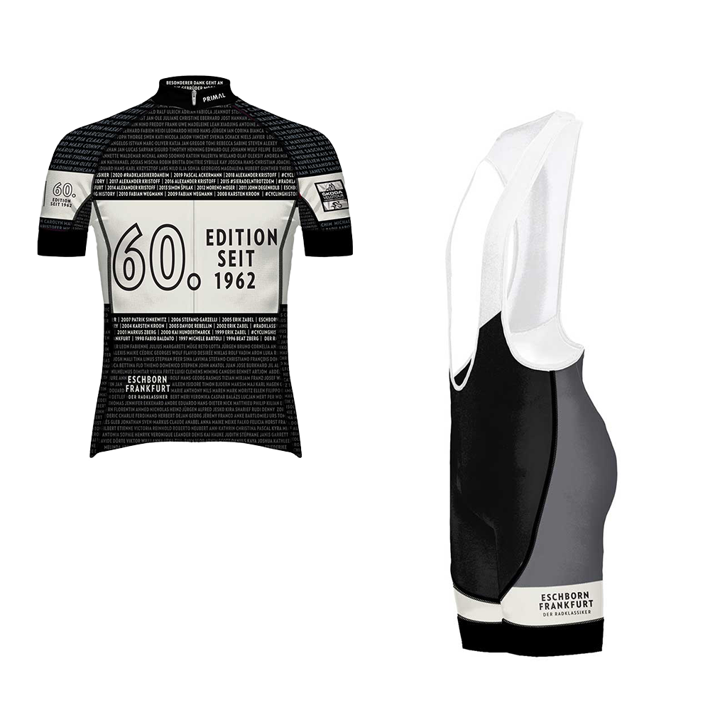 Eschborn-Frankfurt 2021 - Trikot-Set - Herren VORBESTELLUNG -  Custom Cycling Clothing and accessories online - Primal Europe