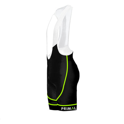 Ebony Men's Evo 2.0 Bib - Green - Primal Europe Cycling clothing