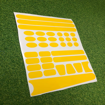 Frame Protection Stickers - Gloss Yellow