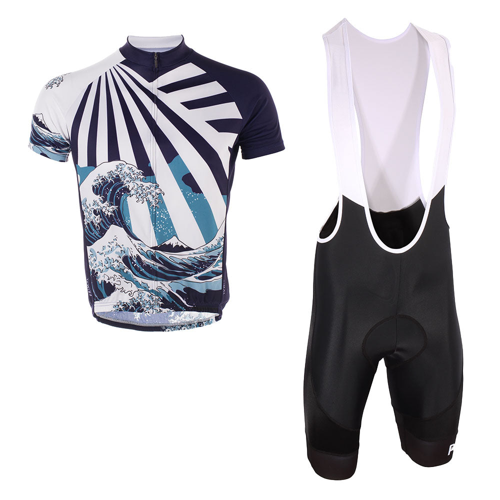 Great Wave Jersey & Evo 2.0 Bibs Kit (Bundle&Save) -  Custom Cycling Clothing and accessories online - Primal Europe