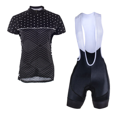 Ebony Evo 2.0 Bibs & Polkaline Jersey  (Bundle&Save) -  Custom Cycling Clothing and accessories online - Primal Europe