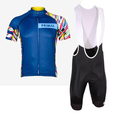 Wild Roads Navy Evo Jersey & Ebony Evo 2.0 Kit (Bundle&Save) -  Custom Cycling Clothing and accessories online - Primal Europe