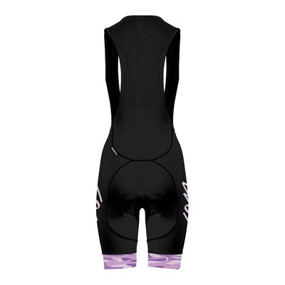 PRE-ORDER Shut Up Legs Purple Camo Women's Evo 2.0 Cycling bibs -  Custom Cycling Clothing and accessories online - Primal Europe
