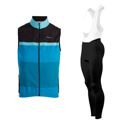 Randonneur 4 Pocket Wind Vest & Dawn Winter Tights (Bundle&Save) -  Custom Cycling Clothing and accessories online - Primal Europe