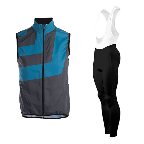Slant Grey Wind Vest Dawn Winter Tights (Bundle&Save) -  Custom Cycling Clothing and accessories online - Primal Europe