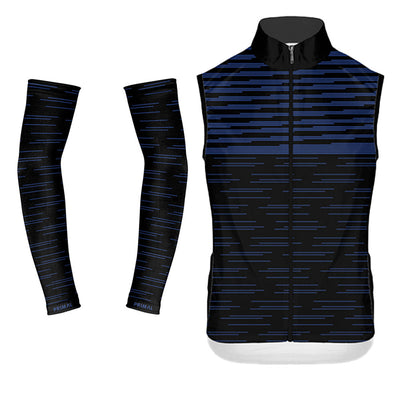 Stirling 4 Pocket Wind Vest & Arm Warmers (Bundle&Save) -  Custom Cycling Clothing and accessories online - Primal Europe