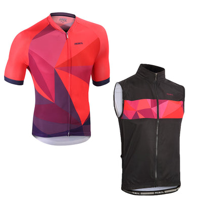 Triangular 4 Pocket Wind Vest & Omni Jersey (Bundle&Save) -  Custom Cycling Clothing and accessories online - Primal Europe