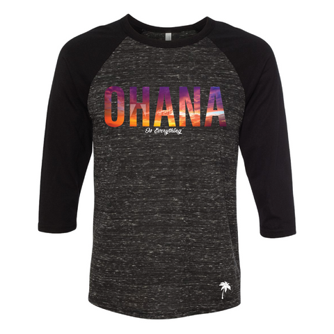 Ohana Is Everything 3/4 Sleeve Shirt
