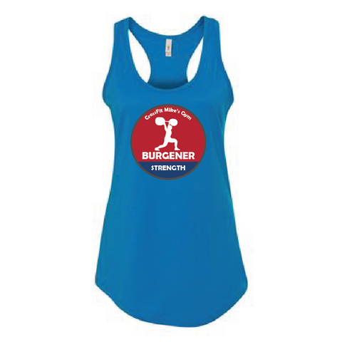 Burgener Strength Simple Circle CrossFit Tank Top