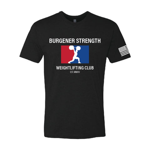 Burgener Strength Weightlifting Club Shirt