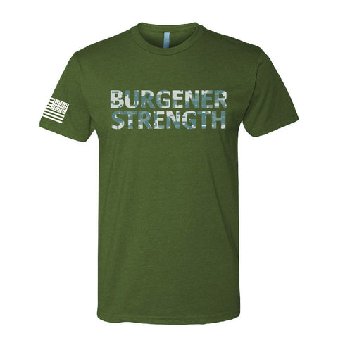 Burgener Strength Digital Camo Shirt