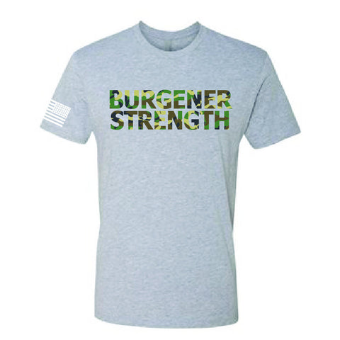 Burgener Strength Jungle Camo Shirt