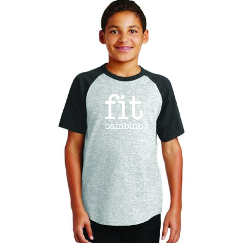 FIT Bambino Kids Raglan Short Sleeve Shirt