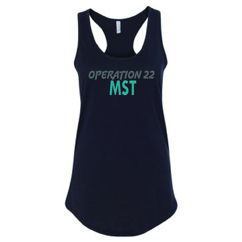 Operation 22 MST Tank Top with MST Logo