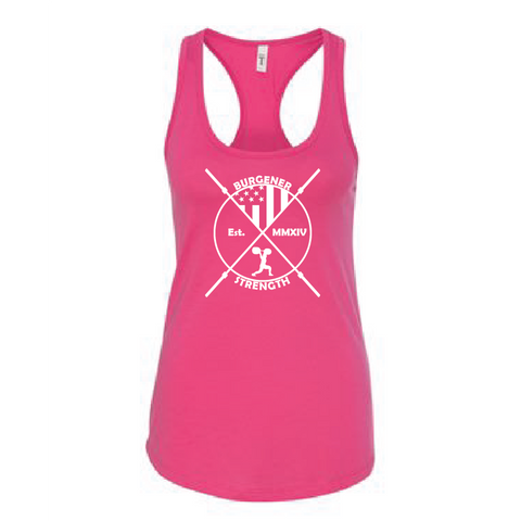 Burgener Strength Simple CrossFit Tank Top