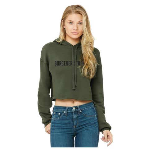 Burgener Strength Women's Crop Hoodie
