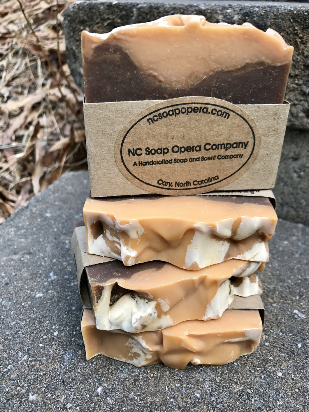 Fortnight's Pumpkin Cream Beer Soap