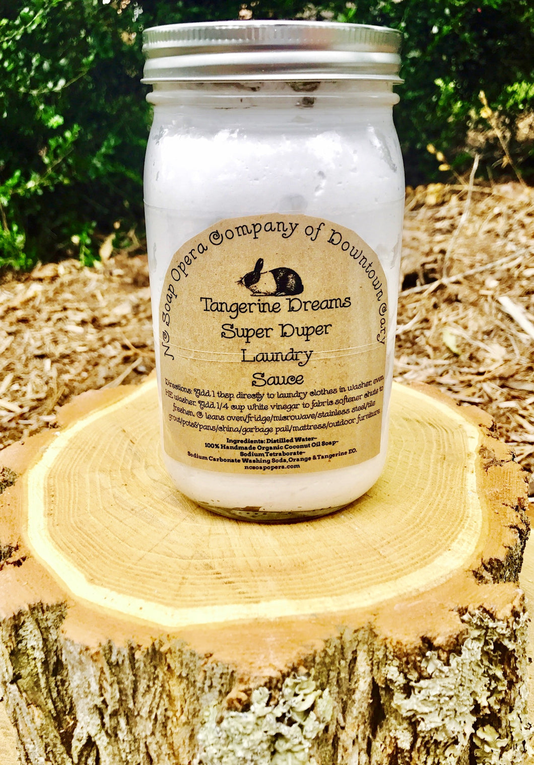 Handcrafted Laundry and Cleaning Sauce-